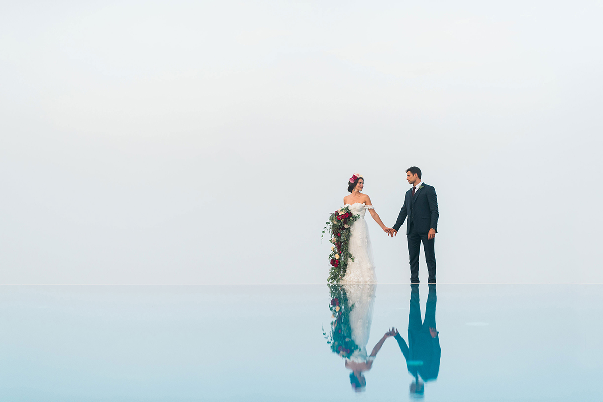 Boho Chic Amalfi Coast Wedding Belmond Caruso 22