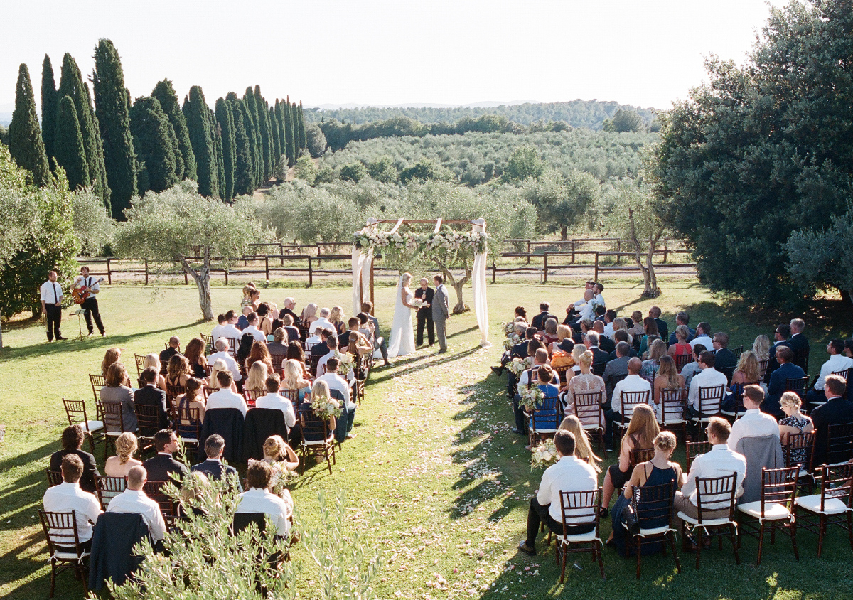 Tuscany Vineyard Wedding Italy Wedding Planner
