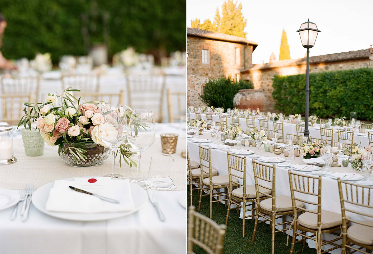Tuscany Vineyard Wedding Planner 24