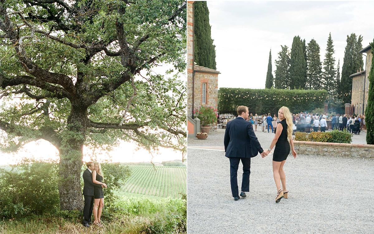 Tuscany Vineyard Wedding Engagement Session 4