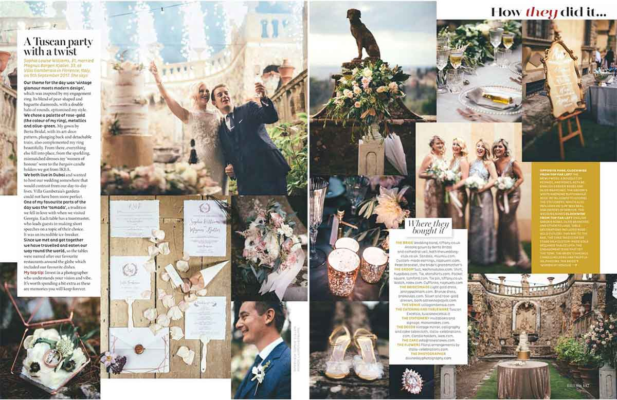 luxury Florence wedding planner